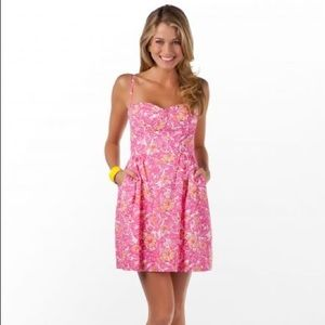 Lilly Pulitzer Georgie Chum Bucket Bustier Dress